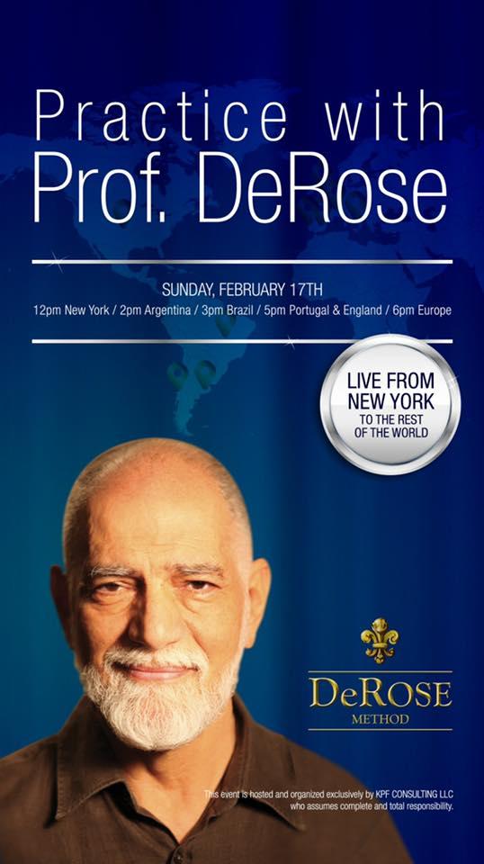 Lezione con il Prof. DeRose in diretta da New York a tutto il mondo